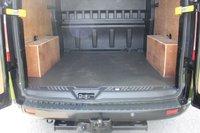 USED 2014 14 FORD TRANSIT CUSTOM 2.2 290 LIMITED LR DCB 124 BHP NO VAT - CREW CAB - Panther Black -