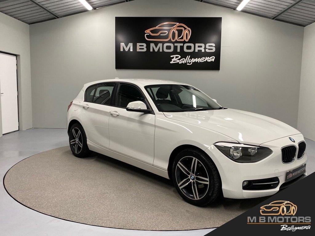 USED 2014 BMW 1 SERIES 116D SPORT AUTOMATIC 5d 114 BHP