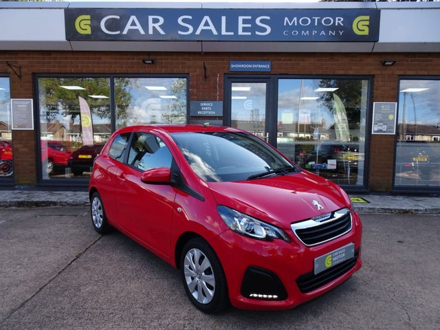 USED 2017 17 PEUGEOT 108 1.0 ACTIVE 3d 68 BHP JUST SERVICED, MOT TILL SEPTEMBER 2021 - NO ADVISORIES, ONE OWNER FROM NEW, DAB RADIO, BLUETOOTH, HPI CLEAR, IDEAL FIRST CAR OR CITY RUNABOUT