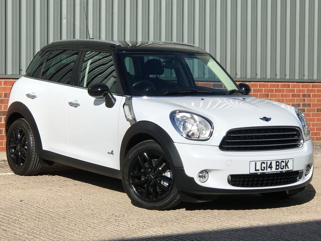 USED 2014 14 MINI COUNTRYMAN 2.0 COOPER D ALL4 5d 110 BHP EXCELLENT LOW MILEAGE EXAMPLE