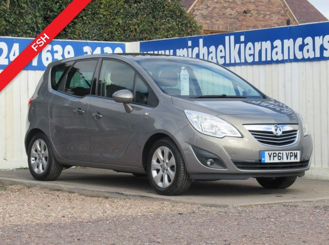 USED 2011 61 VAUXHALL MERIVA 1.4 SE 5d 98 BHP VERY CLEAN CAR