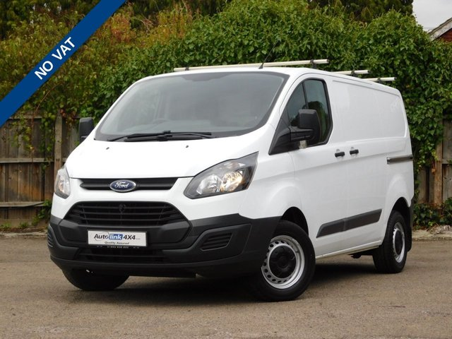 USED 2014 63 FORD TRANSIT CUSTOM 2.2 270 LR P/V 99 BHP NO VAT+Bluetooth+ Rhino R/Rack