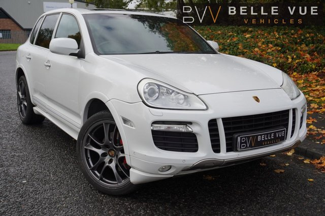 USED 2008 57 PORSCHE CAYENNE 4.8 GTS TIPTRONIC S 5d 405 BHP *SAT NAV, CRUISE CONTROL, FULL LEATHER, SPORTS PADDLE SHIFT!*