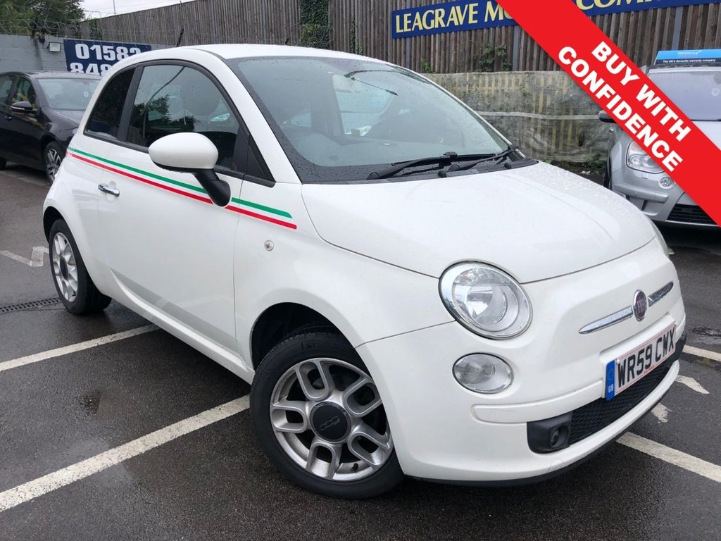 USED 2009 59 FIAT 500 1.2 SPORT 3d 69 BHP COMES WITH 12 MONTH MOT