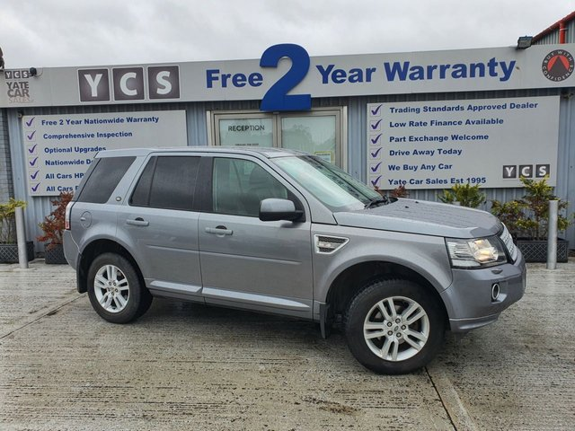 2013 63 LAND ROVER FREELANDER 2 2.2 SD4 XS 5d 190 BHP (FREE 2 YEAR WARRANTY)