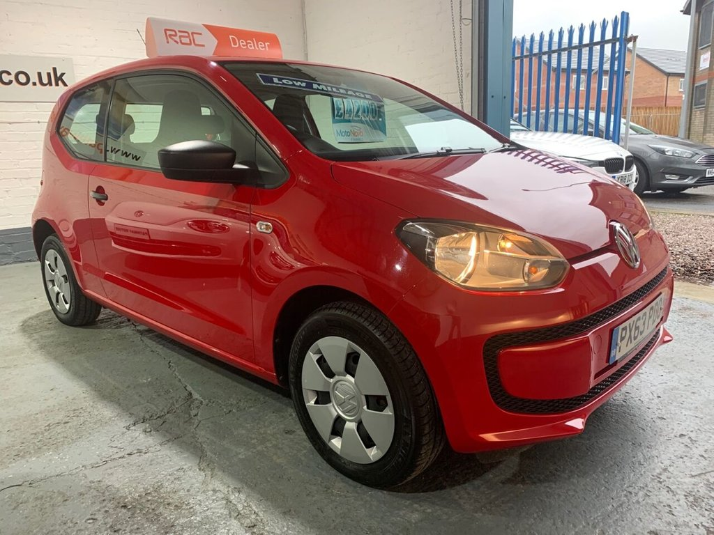 USED 2013 63 VOLKSWAGEN UP 1.0 TAKE UP 3d 59 BHP
