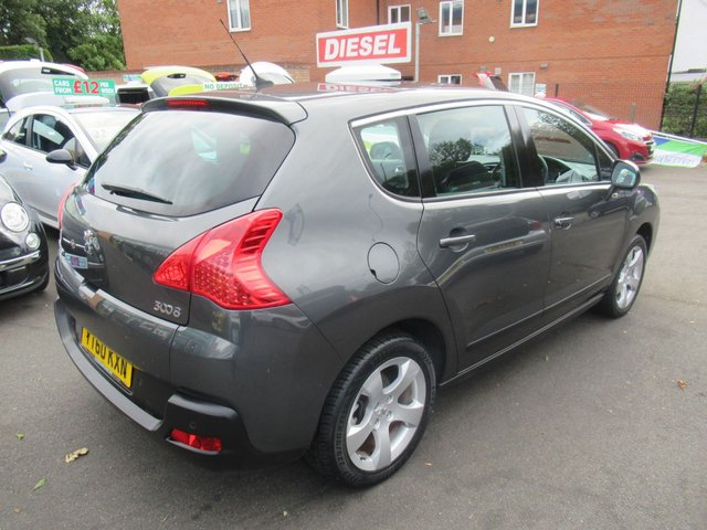 USED 2010 60 PEUGEOT 3008 1.6 SPORT HDI 5d 110 BHP CALL 01543 379066... 12 MONTHS MOT... 6 MONTHS WARRANTY... NO DEPOSIT DEALS... TEST DRIVE TODAY