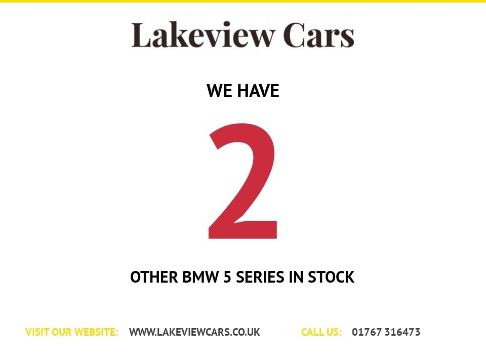 USED 2012 G BMW 5 SERIES 2.0 520D M SPORT 4d 181 BHP