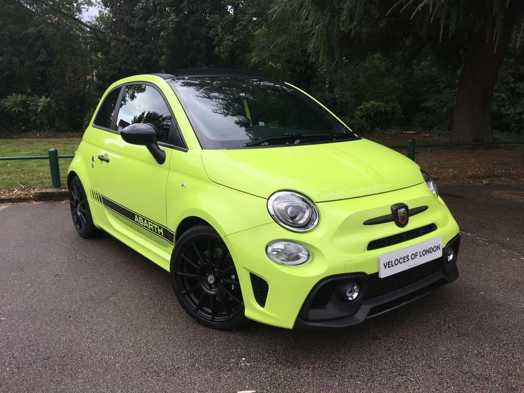 USED 2019 68 ABARTH 595C 1.4L 595C COMPETIZIONE MTA 3d 177 BHP £2000 OF FACTORY EXTRAS