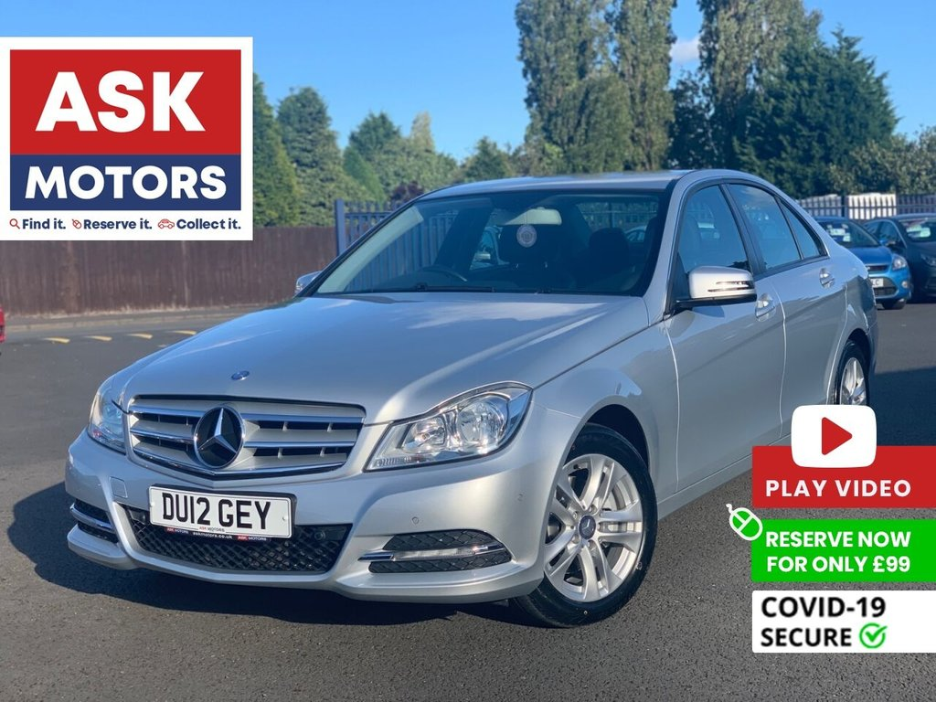 USED 2012 12 MERCEDES-BENZ C-CLASS 2.1 C220 CDI BLUEEFFICIENCY EXECUTIVE SE 4d 168 BHP 1 REG KEEPER