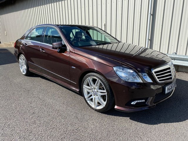 2011 61 MERCEDES-BENZ E-CLASS 3.0 V6 DIESEL E350 CDI BLUEEFFICIENCY AMG SPORT SALOON 265 BHP