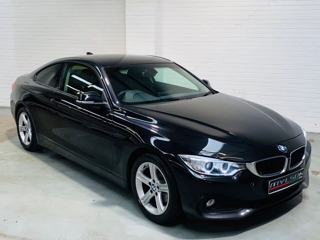 USED 2013 63 BMW 4 SERIES 2.0 420D SE 2d 181 BHP 1 Owner, Full BMW Service History, Pro Media/Navigation Pack, Privacy Glass, Black Leather Interior, Xenon Headlights