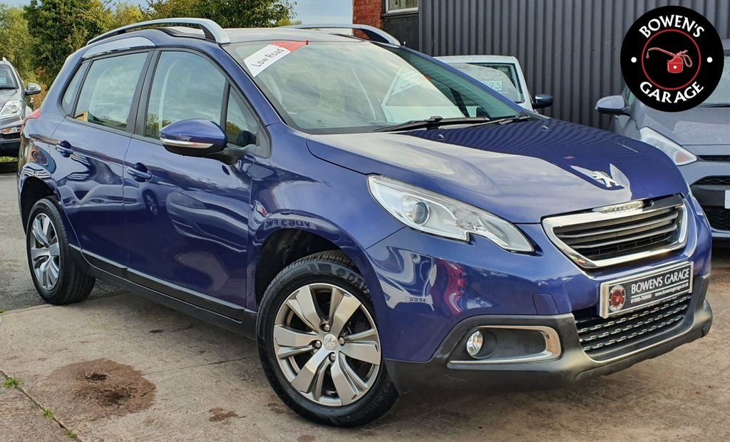 USED 2014 14 PEUGEOT 2008 1.2 ACTIVE 5D 82 BHP 2 Owners - 5 Services - £30 Tax - Local Car