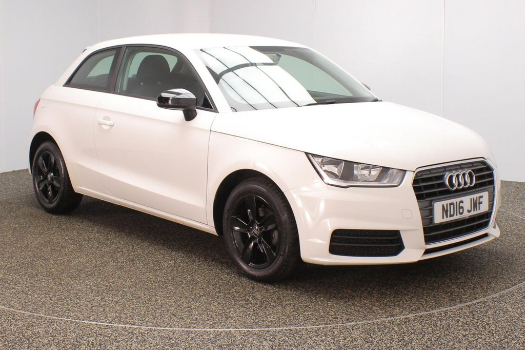 USED 2016 16 AUDI A1 1.0 TFSI SE 3DR 93 BHP FREE 12 MONTHS ROAD TAX + DAB RADIO + AIR CONDITIONING + ELECTRIC WINDOWS + ELECTRIC/HEATED DOOR MIRRORS + 15 INCH ALLOY WHEELS