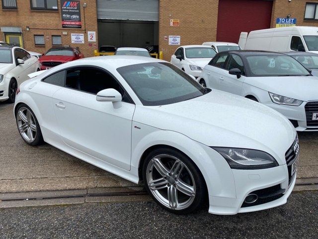 2011 60 AUDI TT 2.0 TDI QUATTRO S LINE 2d 170 BHP FULL LEATHER  HEATED SEATS,19 INCH ALLOYS  SOLD TO RITCHIE
