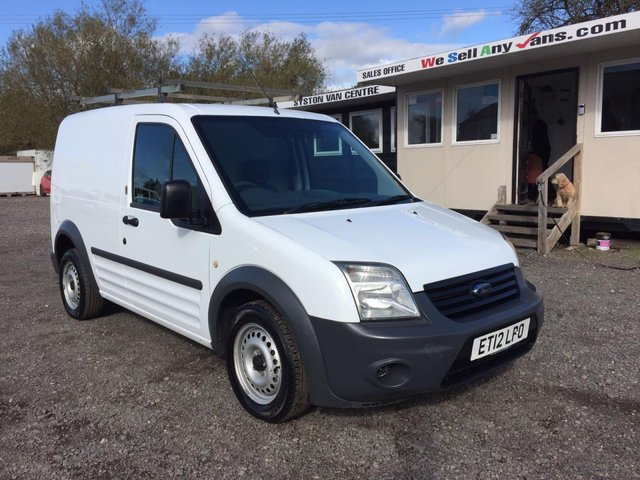 2012 12 FORD TRANSIT CONNECT 1.8 T200 LR 74 BHP