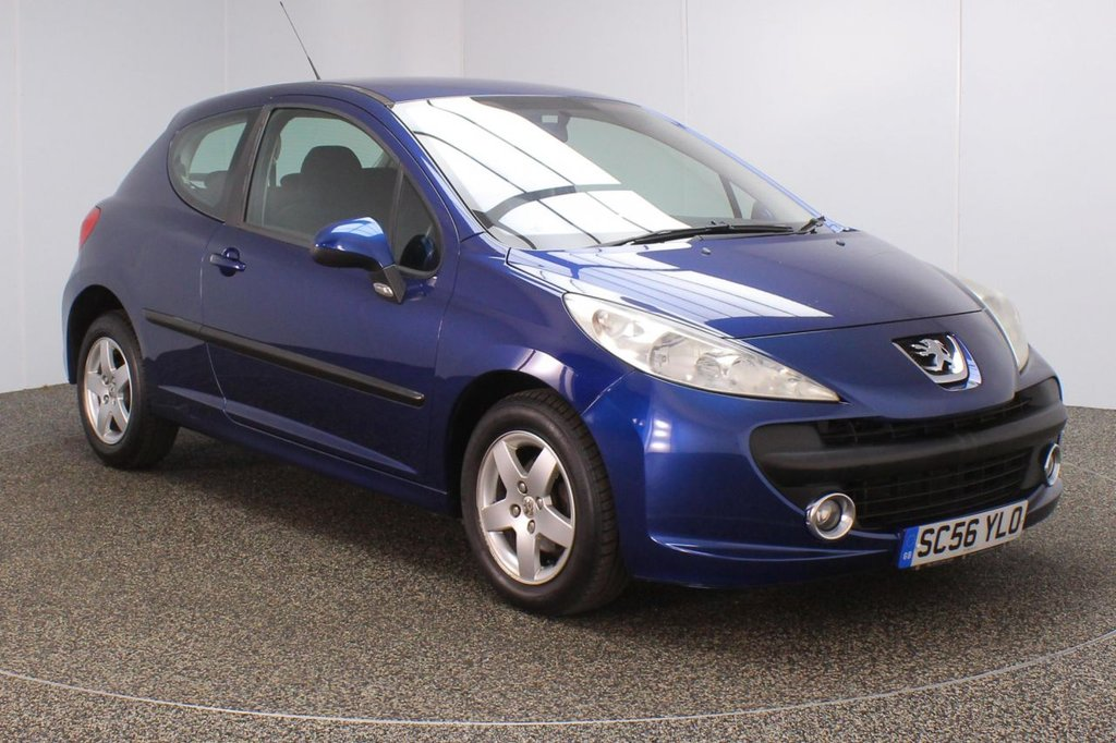 USED 2007 56 PEUGEOT 207 1.4 SPORT 3DR 89 BHP AIR CONDITIONING + RADIO/CD + ELECTRIC WINDOWS + ELECTRIC/HEATED DOOR MIRRORS + 15 INCH ALLOY WHEELS