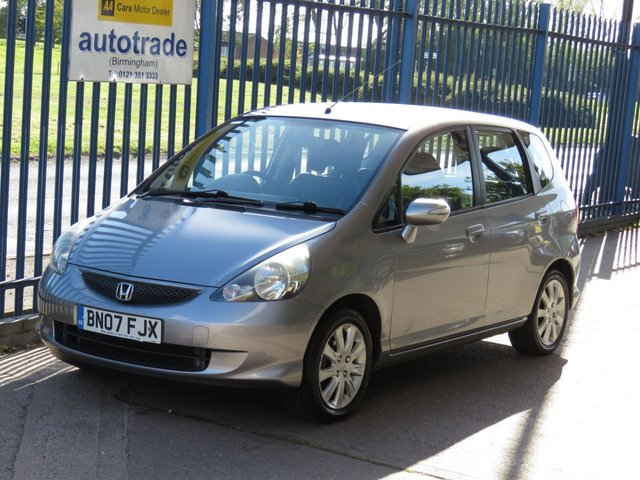 USED 2007 07 HONDA JAZZ 1.3 DSI SE 5d 82 Air con Alloys Folding mirrors Service history Part exchange available Open 7 days ULEZ Compliant