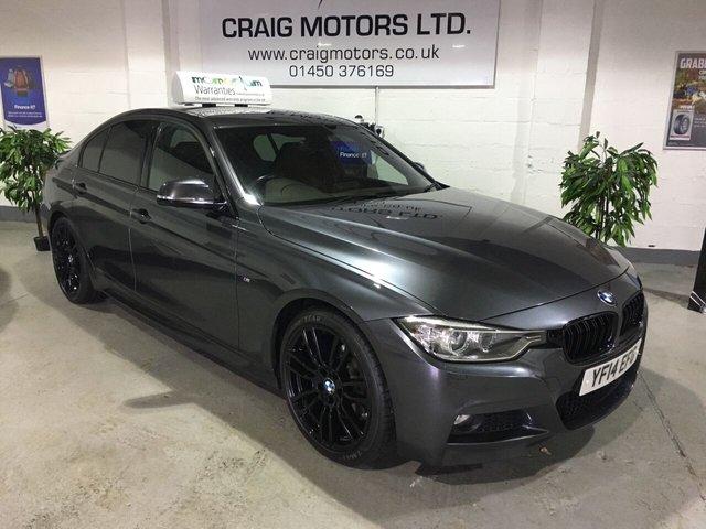 2014 14 BMW 3 SERIES 2.0L 318D M SPORT 4d 141 BHP