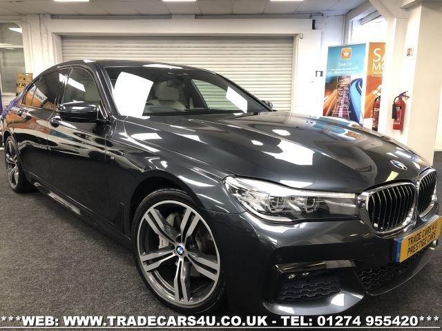 USED 2017 17 BMW 7 SERIES 3.0 740LD XDRIVE M SPORT 4d AUTO 315 BHP SALOON