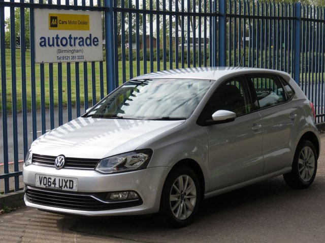USED 2014 64 VOLKSWAGEN POLO 1.4 SE TDI BLUEMOTION 5d 74 BHP ZERO TAX, VW HISTORY, A/C, DAB VW SERVICE HISTORY, DAB RADIO, TOUCHSCREEN MULTIMEDIA DISPLAY, ALLOY WHEELS, AIR CONDITIONING, BLUETOOTH AND USB.