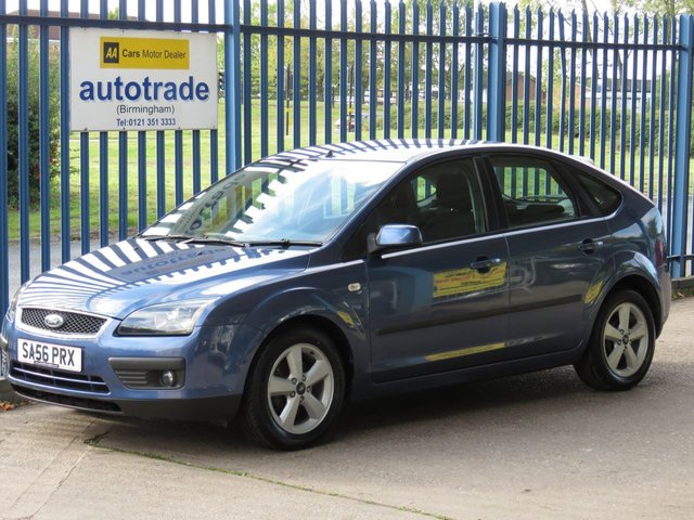 USED 2006 56 FORD FOCUS 1.6 ZETEC CLIMATE 5d 100 BHP Ulez Compliant, Air Con, Quickclear Heated Windscreen, Alloys ULEZ COMPLIANT, AIR CONDITIONING, QUICKCLEAR HEATED WINDSCREEN, ALLOY WHEELS, FRONT FOG LIGHTS, LEATHER STEERING WHEEL