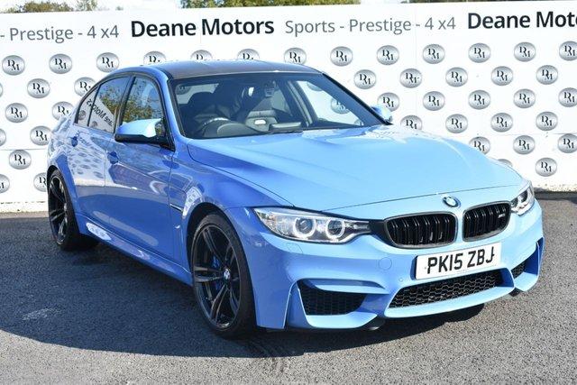 2015 15 BMW M3 3.0 M3 4d 426 BHP YAS MARINA BLUE