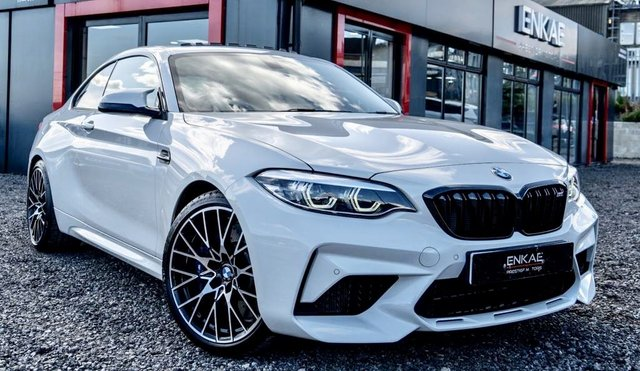 2019 18 BMW M2 3.0 M2 COMPETITION 2d 405 BHP