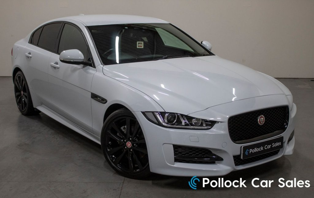 "USED 2017 17 JAGUAR XE 2.0 R-SPORT 4d 178 BHP Factory Black Pack, 19"" wheels, Privacy Glass"