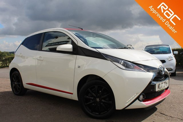 USED 2017 17 TOYOTA AYGO 1.0 VVT-I X-PRESS 5d 69 BHP VIEW AND RESERVE ONLINE OR CALL 01527-853940 FOR MORE INFO.