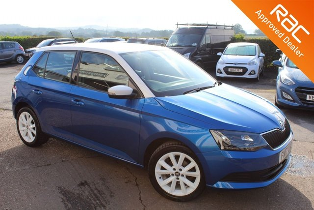 USED 2017 17 SKODA FABIA 1.0 COLOUR EDITION TSI 5d 94 BHP VIEW AND RESERVE ONLINE OR CALL 01527-853940 FOR MORE INFO.