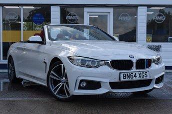 2014 BMW 4 SERIES 2.0 428I M SPORT 2d 242 BHP £18999.00