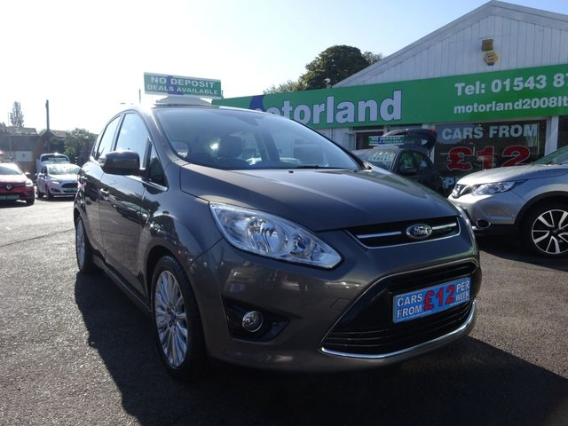 USED 2013 13 FORD C-MAX 1.6 TITANIUM TDCI 5d 114 BHP **  JUST ARRIVED ** CALL 01543 877320**