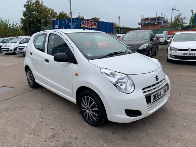 USED 2014 64 SUZUKI ALTO 1.0 SZ 5d 68 BHP ONE OWNER FROM NEW