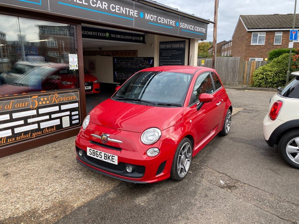 USED 2015 65 ABARTH 500 1.4 595 3d 138 BHP BLUETOOTH - USB - AUX - AIRCON