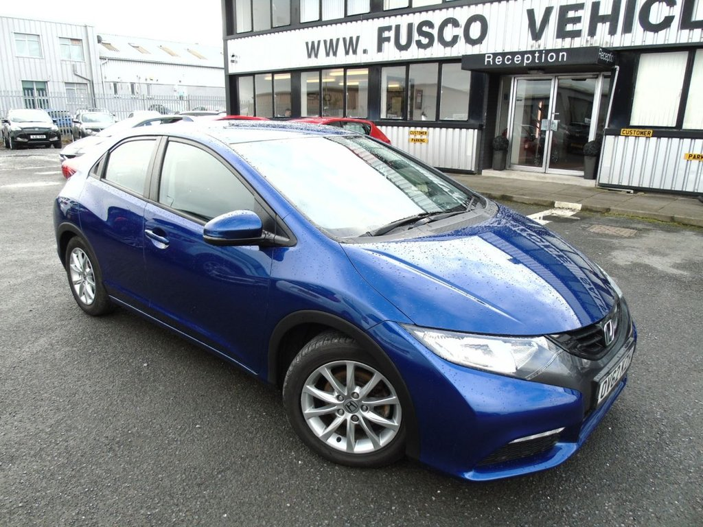 USED 2012 62 HONDA CIVIC 1.8 I-VTEC SE 5d 140 BHP £121 a month, T&Cs apply.