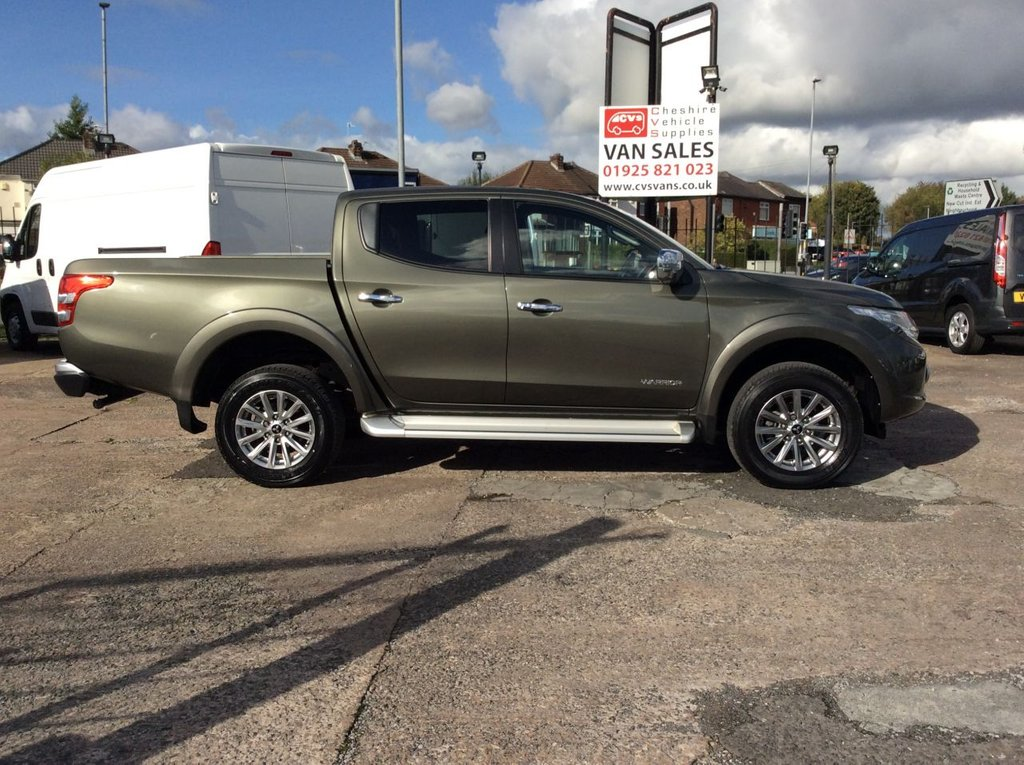 USED 2018 18 MITSUBISHI L200 2.4 DI-D 4WD WARRIOR DCB 178 BHP 1 OWNER WARRANTY GREAT SPECIFICATION
