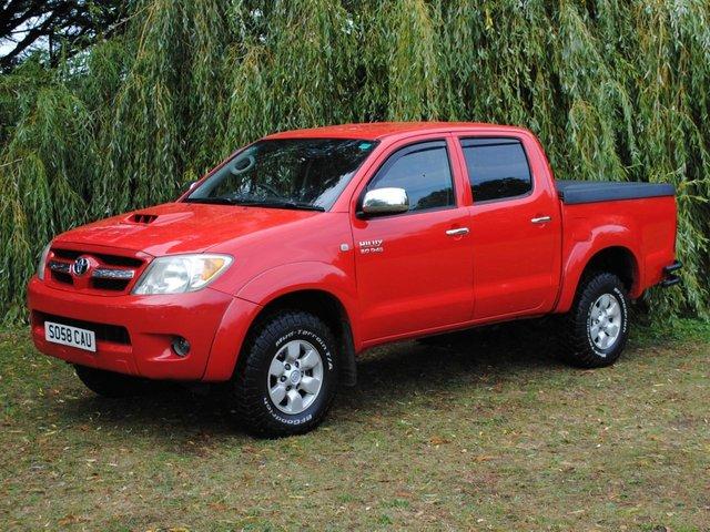 2008 58 TOYOTA HI-LUX 3.0 4X4 D-4D D/C 169 BHP