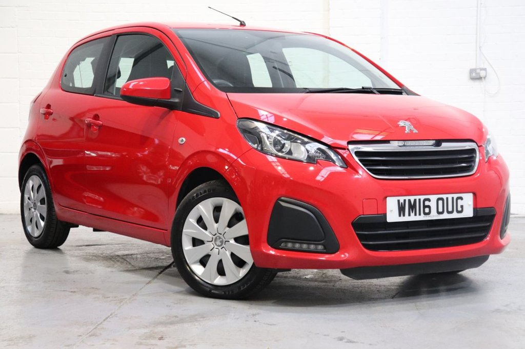 USED 2016 16 PEUGEOT 108 1.0 ACTIVE 5d 68 BHP Long Mot + Recently Serviced