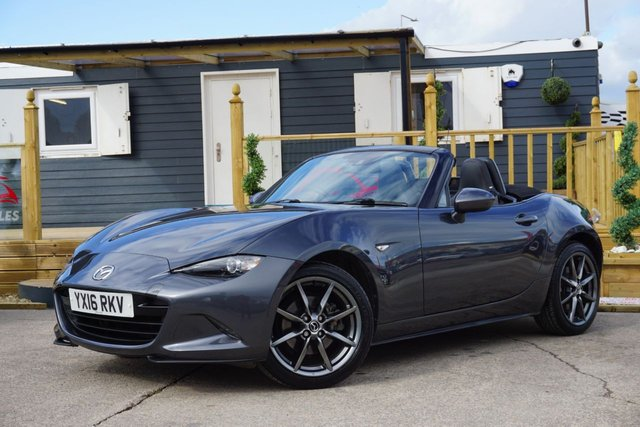 USED 2016 16 MAZDA MX-5 2.0 SPORT NAV 2d 158 BHP ONLY 24K, GREAT EXAMPLE