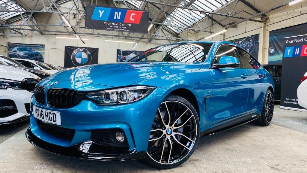USED 2018 18 BMW 4 SERIES 3.0 435d M Sport Gran Coupe Auto xDrive (s/s) 5dr PERFORMANCEKIT+20S+FACELIFT