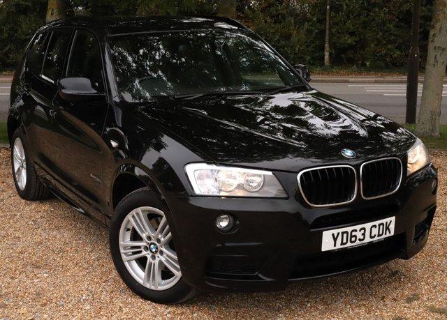 2013 63 BMW X3 2.0 XDRIVE20D M SPORT 5d 181 BHP AUTOMATIC