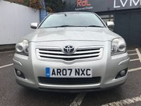 USED 2007 07 TOYOTA AVENSIS 1.8 T3-X VVT-I 5d 127 BHP RAC APPROVED VEHICLE !!
