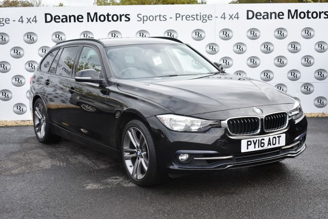 2016 16 BMW 3 SERIES 2.0 320I SPORT TOURING 5d 181 BHP