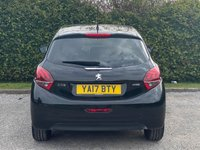 USED 2017 17 PEUGEOT 208 1.2 PURETECH BLACK EDITION 3d 82 BHP FULL TOUCH SCREEN MEDIA