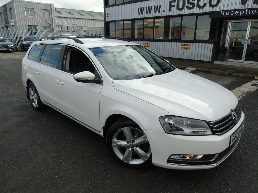 USED 2012 VOLKSWAGEN PASSAT 2.0 SE TDI BLUEMOTION TECHNOLOGY 5d 139 BHP £135 a month, T&Cs apply.