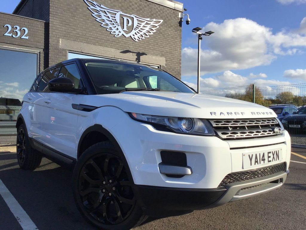 USED 2014 14 LAND ROVER RANGE ROVER EVOQUE 2.2 SD4 PURE 5d 190 BHP DAB - PARK AID - HEATED SEATS