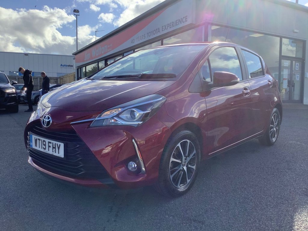 USED 2019 19 TOYOTA YARIS 1.5 VVT-I ICON TECH 5d 110 BHP