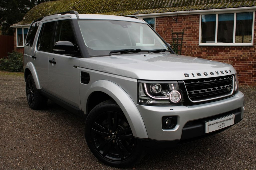 USED 2014 14 LAND ROVER DISCOVERY 3.0 SDV6 255 HSE S/S 5dr