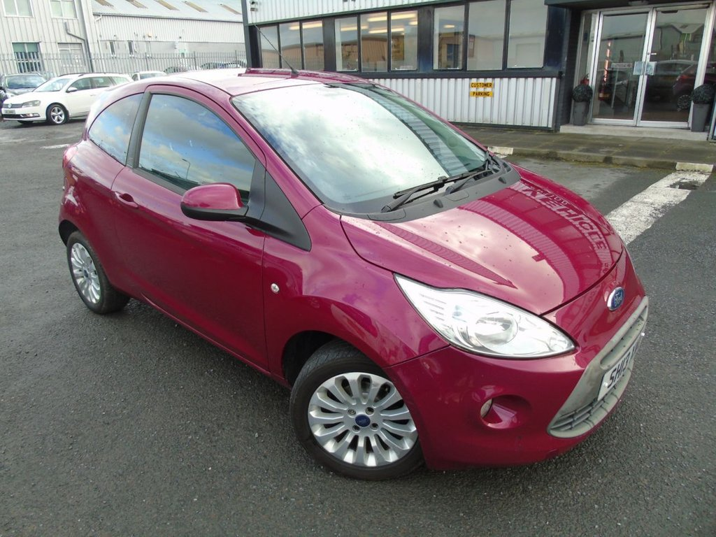 USED 2013 13 FORD KA 1.2 ZETEC 3d 69 BHP £86 a month, T&C's apply.